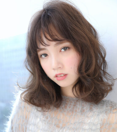 【恋するヘア】グレージュ☆セミディ