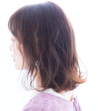 外ハネミディアムスタイル☆